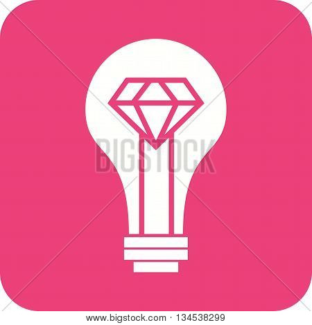 Idea, brilliant, technology icon vector image. Can also be used for digital web. Suitable for use on web apps, mobile apps and print media.