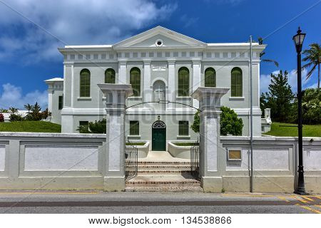 Ebenezer Methodist Church - Bermuda