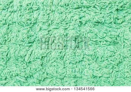 Closeup surface old green mat texture background