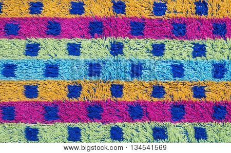 Closeup surface of colorful mat texture background