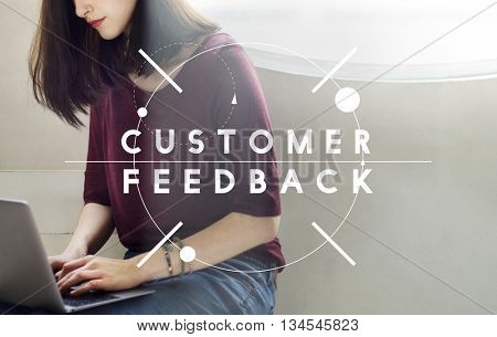 Customer Feedback Assessment Response Concept