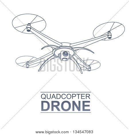 Drone Vector Logo