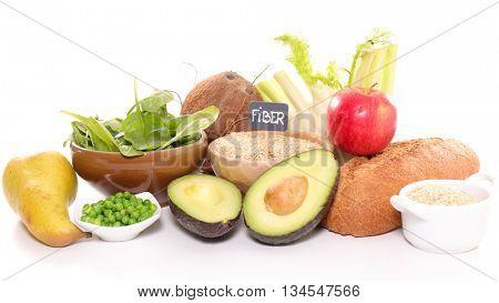 food high in fiber