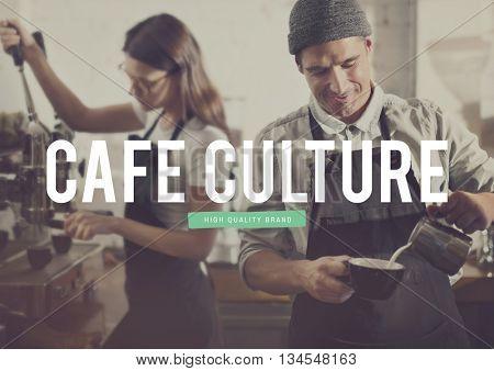 Coffee Time Cafe Break Barista Concept