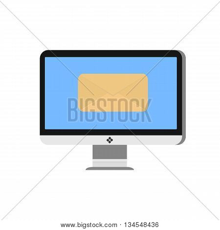 E-mail concept . Marketing e-mail . E-Post. Vector illustration.