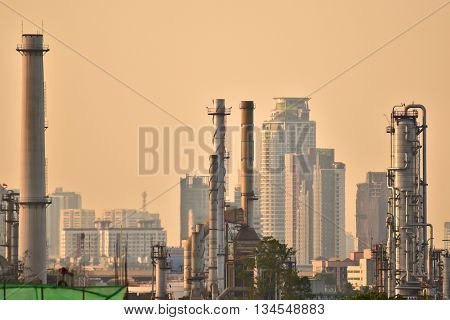 oil and gas factory power and chemical industry