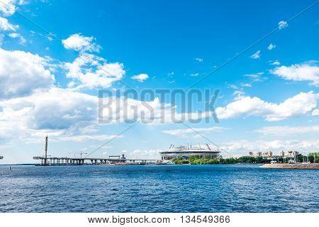 Petrovsky Stadium View