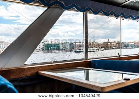 View Through The Ship Window