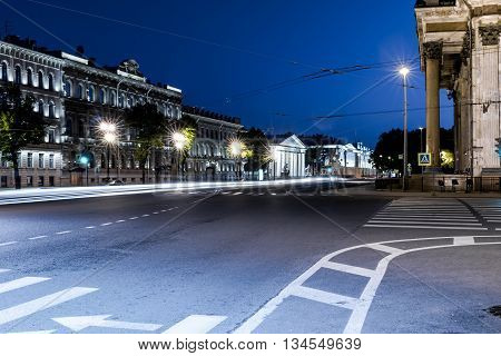 Crossroad In The Night