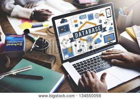 Database Information Server Storage Technology Concept