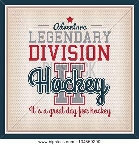Ice Hockey Badge