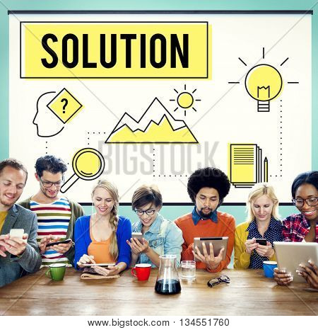 Strategy Innovation Solution Objective Idea Concept