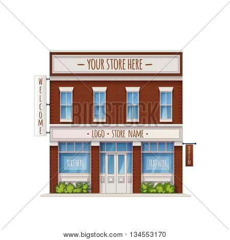 Store Color Illustration