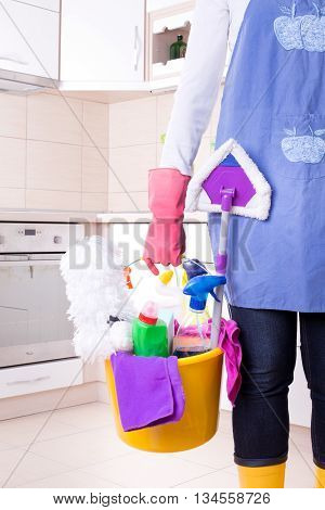 Cleaning Service Concept