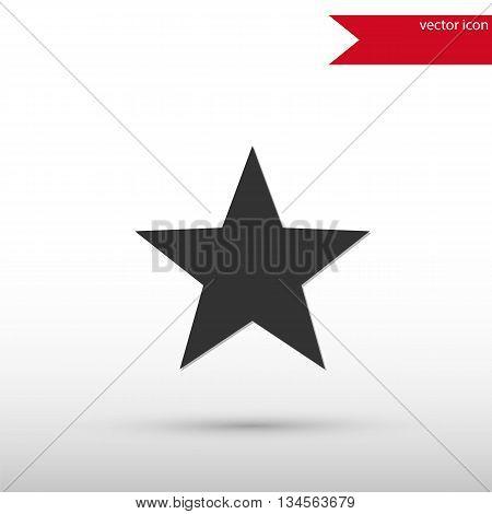 Star Icon. Star symbol. Vector illustration. Vector icon.
