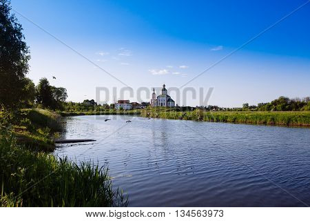 Church Of Elijah The Prophet On Ivanova Mountain Or Elias Church - Orthodox Church In Suzdal, On The