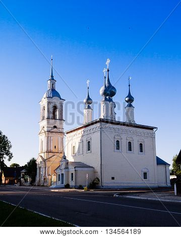 Resurrection (voskresensky) Cathedral In Suzdal In Winter. Golden Ring Of Russia.