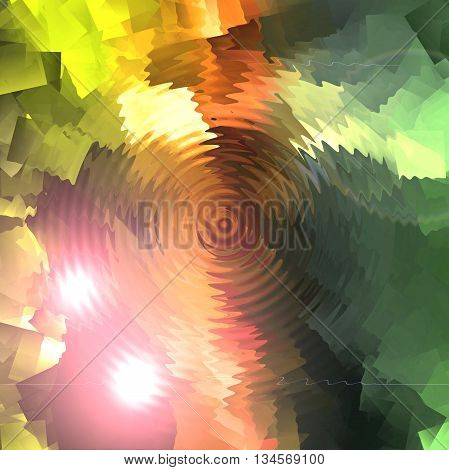 Abstract coloring background of the sunrise gradient with visual wave and zigzag effects,good for your idea design in the project