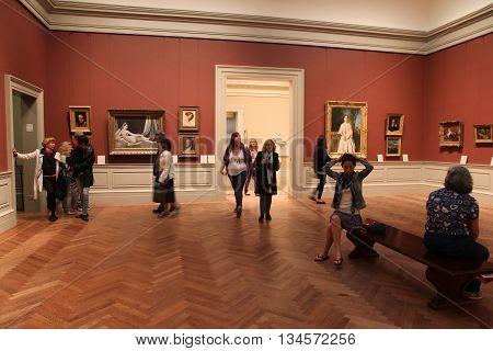 Museum Visit, New York
