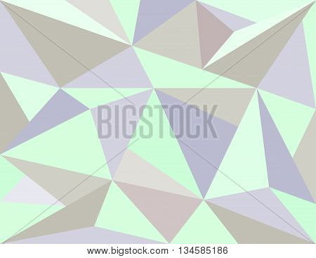 Low poly style vector Abstract low poly background vector.Geometric background with triangular polygons