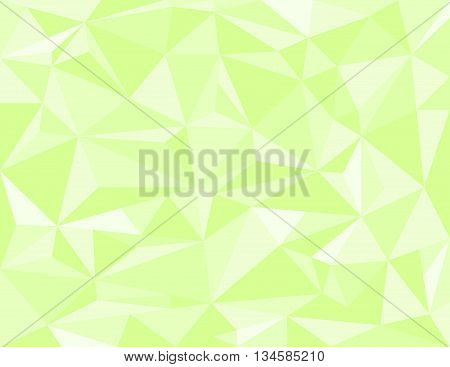 Low poly style vector green low poly design Abstract low poly background vector Geometric green background with triangular polygons.