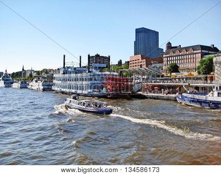Hamburg, Germany - Landungsbruecken