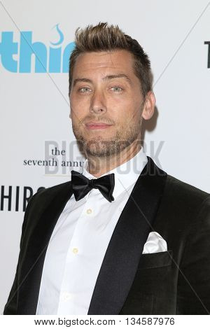 LOS ANGELES - JUN 13:  Lance Bass at the 7th Annual Thirst Gala at the Beverly Hilton Hotel on June 13, 2016 in Beverly Hills, CA