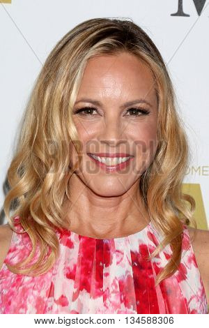 LOS ANGELES - JUN 15:  Maria Bello at the Women In Film 2016 Crystal and Lucy Awards at the Beverly Hilton Hotel on June 15, 2016 in Beverly Hills, CA