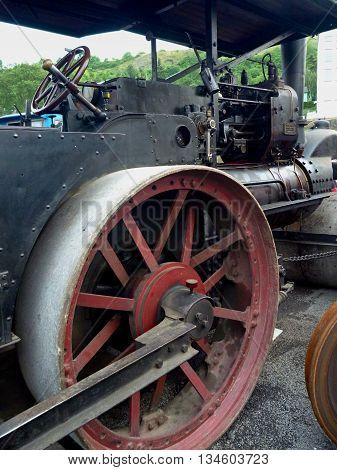 Big Old Historical Steam Machine