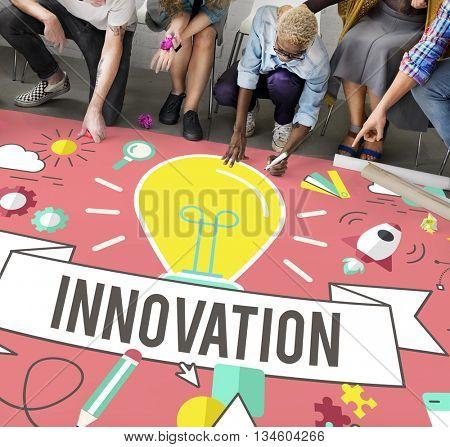 Innovation Ideas Development Creative Invention Concept