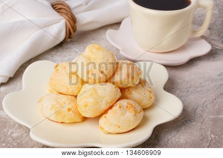 Brazilian Snack Pao De Queijo (cheese Bread)