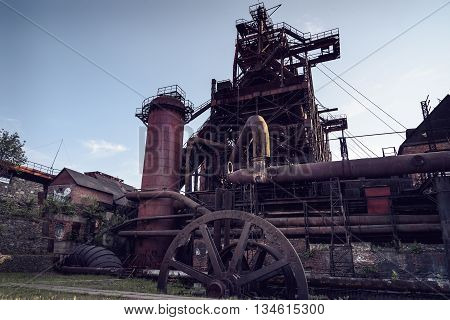 View Of Old Blast Furnace