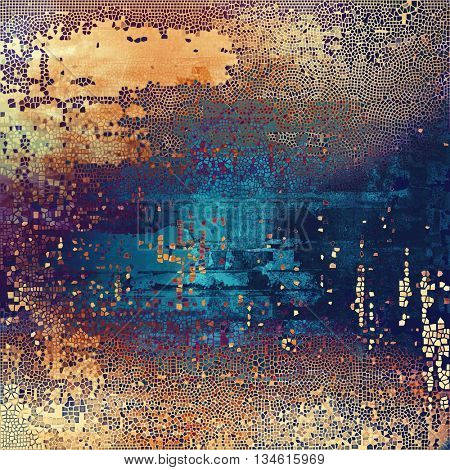 Hi res grunge texture or retro background. With different color patterns: yellow (beige); brown; blue; red (orange); purple (violet); pink