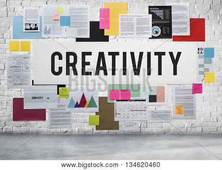 Creativity Ability Aspiration Creating Ideas Skills Concept