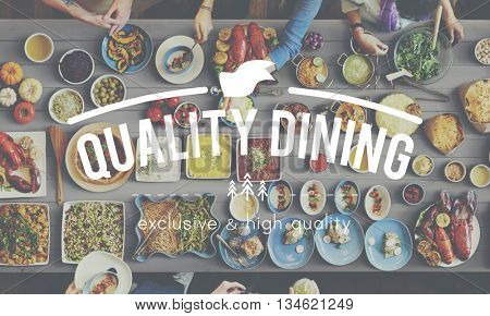 Dining Eating Foods Restaurant Meal Concept