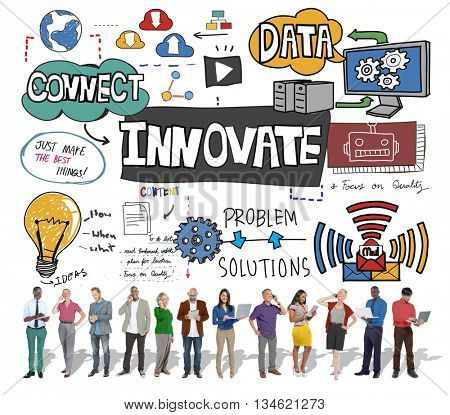 Innovate Innovation Technology Tactics Future Concept