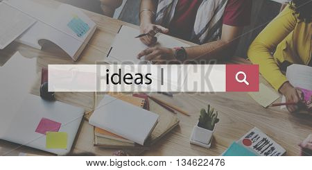Ideas Proposition Strategy Suggestion Vision Concept