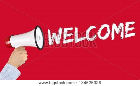 Welcome Refugees Refugee Customer Customers Immigrants Megaphone