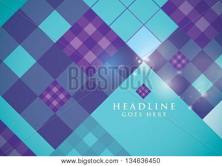 Vector of modern festive background