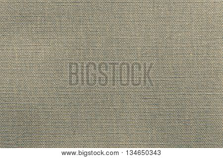 surface of fluted fabric or textile material for the textured wallpaper and for a background of monochrome dirty color