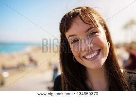 Grinning Girl