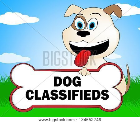 Dog Classifieds Means Media Pedigree And Puppies