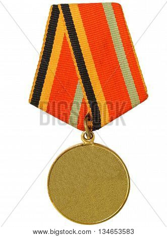 medal war isolated on a white background