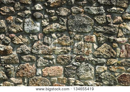 Old castles stonewall wall texture background rock