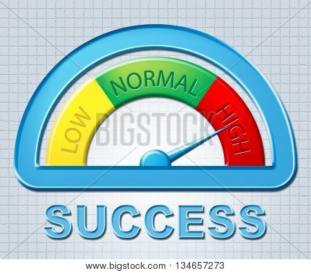 High Success Means Victors Very And Excess