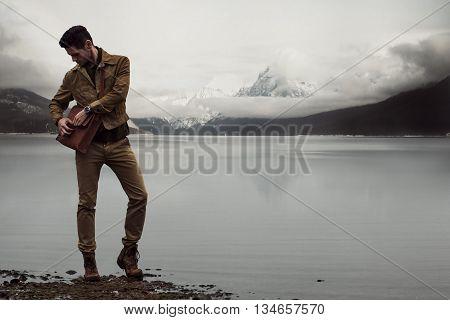 Man In The Wild