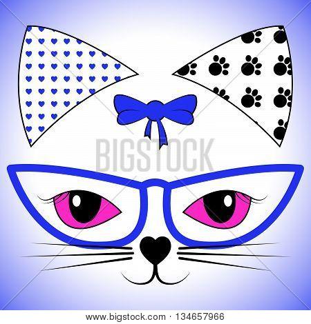 Cat Face Represents Felines Cats And Feline