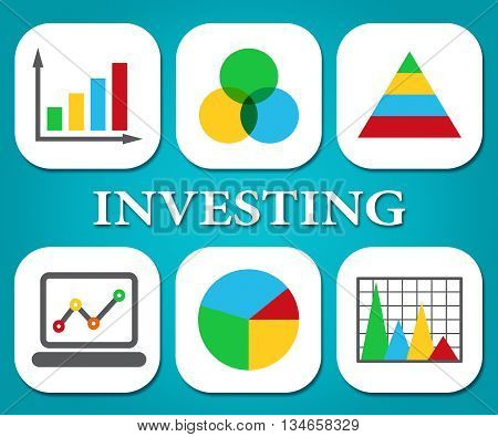 Investing Charts Shows Return On Investment And Graphs