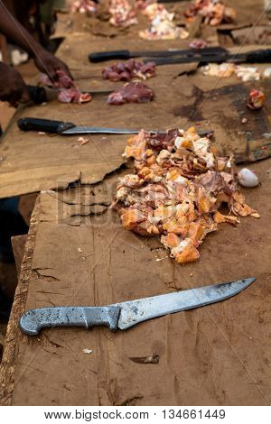 Butchery In Africa