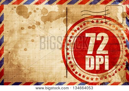 72 dpi